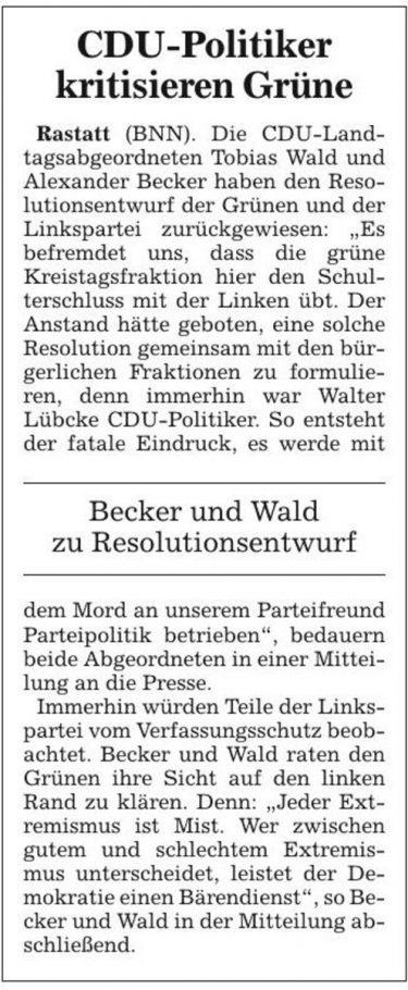 Badische Neueste Nachrichten vom 03.08.2019